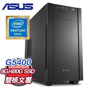 華碩 文書系列【臨淵蹈河】G5400雙核 商務電腦
