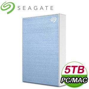 Seagate 希捷 Backup Plus Portable 5TB 2.5吋 USB3.0 外接硬碟(STHP5000402)《淺藍》