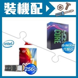 ☆裝機配★ i5-9600K處理器+Intel 760p 256G M.2 SSD《彩盒全球保固》