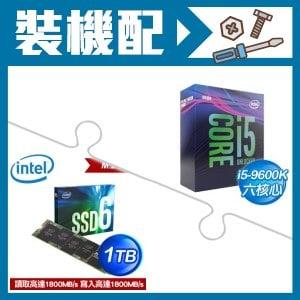 ☆裝機配★ i5-9600K處理器+Intel 660p 1TB M.2 PCIe SSD