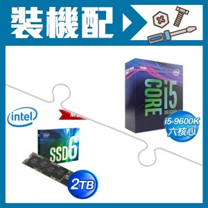 ☆裝機配★ i5-9600K處理器+Intel 660p 2TB M.2 PCIe SSD