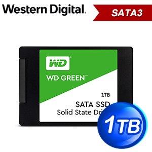 WD 威騰 1TB 2.5吋 SATA SSD固態硬碟(讀:545M/TLC)《綠標》WDS100T2G0A