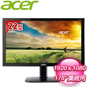 ACER 宏碁 KA220HQ bd 22型 護眼低藍光液晶螢幕