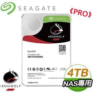 Seagate 希捷 那嘶狼 PRO 4TB 7200轉 NAS專用硬碟(ST4000NE001-5Y)