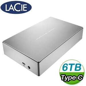 LaCie Porsche Design 6TB TypeC 3.5吋外接硬碟(STFE6000401)