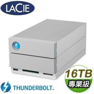 LaCie 16TB 2big Dock Thunderbolt 3 RAID 儲存裝置(STGB16000400)
