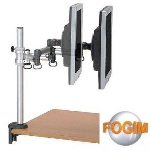 【FOGIM】夾桌懸臂式液晶螢幕支架(單螢幕)-終身保固-TKLA-5082C4-SM