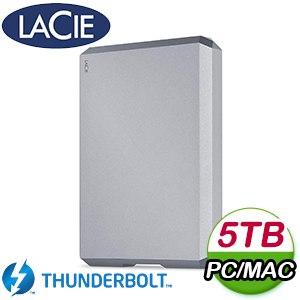 LaCie 5TB Mobile USB3.1 TypeC 2.5吋外接硬碟(STHG5000402)