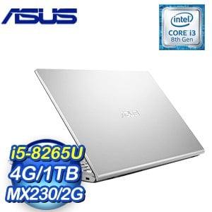 ASUS 華碩 X509FJ-0131S8265U 15.6吋筆記型電腦(冰河銀/i5-8265U/4G/1TB/MX230)