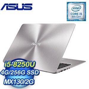 ASUS 華碩 UX410UF-0121A8250U 14吋筆記型電腦(石英灰/i5-8250U/4G/256G/MX130)