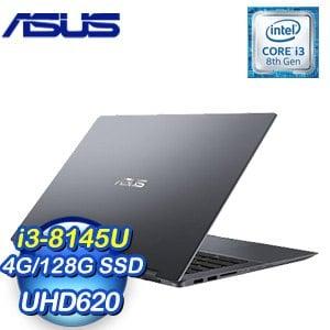 ASUS 華碩 TP412FA-0031A8145U 14吋筆記型電腦(星空灰/i3-8145U/4G/128G/UHD620)