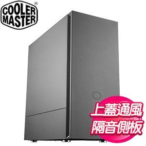 Cooler Master 酷碼【Silencio S600】隔音側板 ATX靜音機殼《黑》