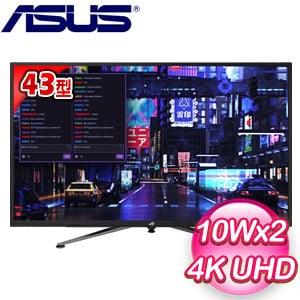 ASUS 華碩 ROG Strix XG438Q 43型 4K UHD FreeSync 2 HDR電競螢幕