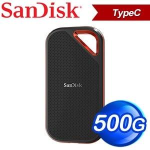 SanDisk Extreme Pro E80 500GB 外接SSD固態硬碟