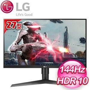 LG 樂金 27GL650F-B 27型 AH-IPS 專業電競螢幕