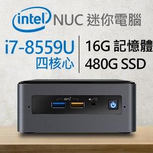 Intel 小型系列【mini卡車】i7-8559U四核 迷你電腦