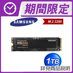 三星 970 EVO 1TB M.2 PCIe SSD ★送行動電源