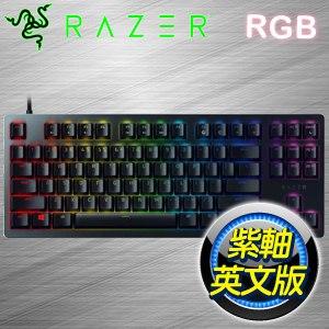 Razer 雷蛇 Huntsman 獵魂光蛛競技版 紫軸RGB 機械式鍵盤《英文版》