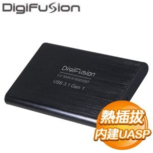 伽利略 USB3.1 Gen1 2.5吋鋁合金外接盒(HD-335U31S)