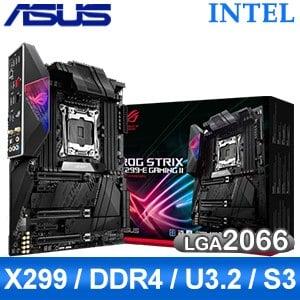 【客訂】ASUS 華碩 ROG STRIX X299-E GAMING II LGA2066主機板 (ATX/3+2年保)