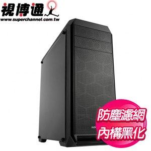 視博通【影武戰士】透側 ATX電腦機殼《黑》SH004(B)