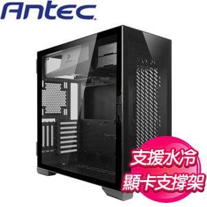Antec 安鈦克【P120 Crystal】玻璃透側 E-ATX電腦機殼《黑》