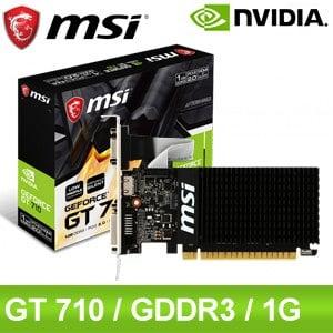 MSI 微星 GT 710 1GD3H LP 1G 顯示卡