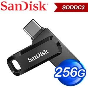 SanDisk Ultra Go USB 256G TypeC+A雙用OTG隨身碟 SDDDC3 256G