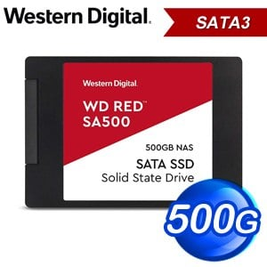 WD 威騰 SA500 500GB 2.5吋 NAS SSD《紅標》WDS500G1R0A