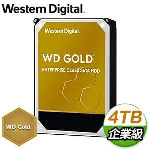 WD 威騰 4TB 3.5吋 7200轉 企業級資料中心硬碟《金標》WD4003FRYZ-5Y