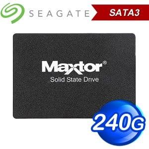 Seagate 希捷 Maxtor Z1 240G 2.5吋 SATA SSD(讀:540M/寫:425M/TLC) YA240VC1A001