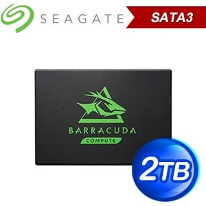 Seagate 希捷 BarraCuda 120 新梭魚 2TB 2.5吋 SATA SSD(讀:560M/TLC) ZA2000CM1A003