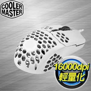 Cooler Master 酷碼 MM710 輕量化電競滑鼠《白》
