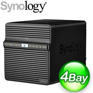 Synology 群暉 DiskStation DS420j 4Bay NAS網路儲存伺服器