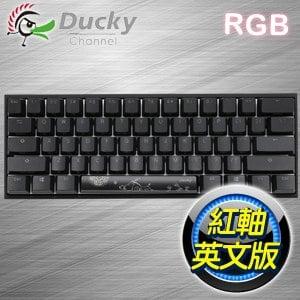 Ducky 創傑 Mecha Mini 鋁蓋紅軸 RGB機械式鍵盤《英文版》