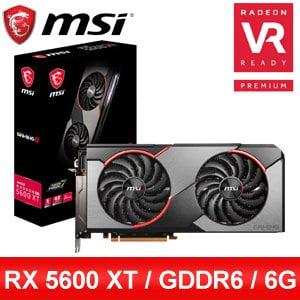 MSI 微星 RX 5600 XT GAMING X 顯示卡