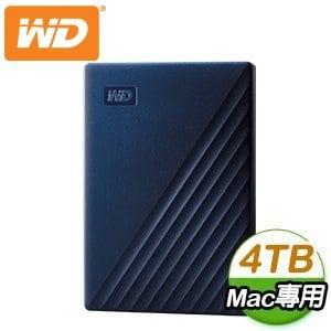 WD 威騰 My Passport for Mac 4TB 2.5吋 USB-C 外接硬碟 WDBA2F0040BBL-WESN