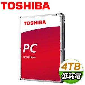 Toshiba 東芝 4TB 3.5吋 128M快取 SATA3 電腦硬碟(DT02ABA400)