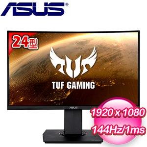 ASUS 華碩 TUF Gaming VG24VQ 24型曲面電競螢幕