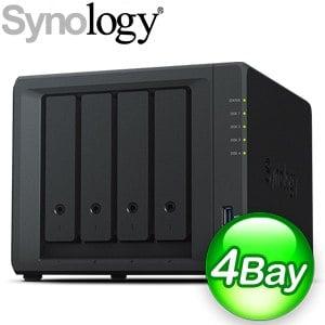 Synology 群暉 DiskStation DS420+ 4Bay NAS網路儲存伺服器