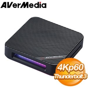 圓剛 GC555 Live Gamer BOLT 4K 60FPS HDR Thunderbolt3實況擷取盒