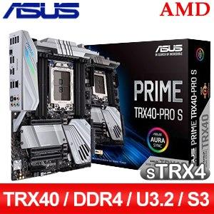 【客訂】ASUS 華碩 PRIME TRX40-PRO S sTRX4主機板 (ATX/3+1年保)