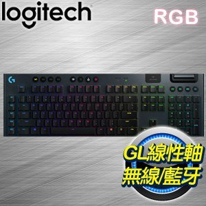 Logitech 羅技 G913 Linear 線性軸 無線電競鍵盤(920-008967)