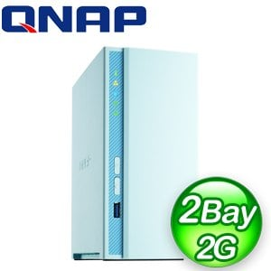 QNAP 威聯通 TS-230 2-Bay NAS 網路儲存伺服器(不含硬碟)