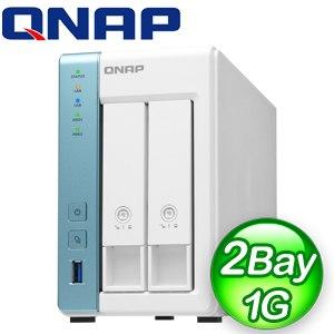 QNAP 威聯通 TS-231K 2-Bay NAS 網路儲存伺服器(不含硬碟)