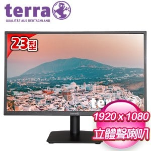 terra 德國沃特曼 2311W 23型 IPS 不閃屏螢幕《五年保》