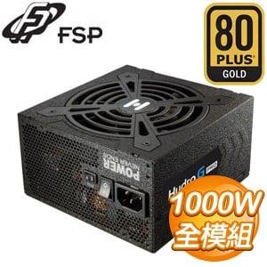 FSP 全漢 HYDRO G PRO 1000 1000W 金牌 全模組 電源供應器 HG2-1000 (10年保)