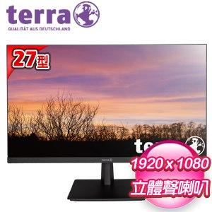 terra 德國沃特曼 2763W 27型 PLS不閃屏廣視角螢幕《五年保》