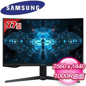 Samsung 三星 C27G75TQSC 27型 VA曲面電競顯示器螢幕