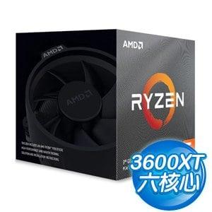 AMD Ryzen 5 3600XT 6核/12緒 處理器《3.8GHz/35M/95W/AM4》